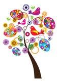 Albero di Pasqua Fotografia Stock Libera da Diritti