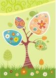 Albero di Pasqua royalty illustrazione gratis