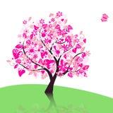 albero di vettore Fotografie Stock