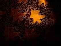 Albero dorato Fotografia Stock
