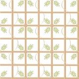 Albero e foglie Fotografia Stock