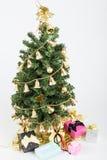 Albero e regali di Noel Immagini Stock