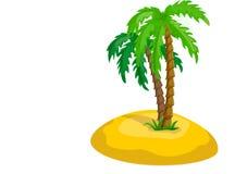 albero ed il sole, vettore Immagine Stock Libera da Diritti