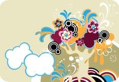 Albero fantastico del fiore. Fotografie Stock