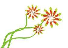 Albero floreale - vettore illustrazione di stock
