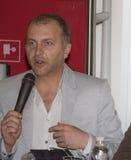 Albero losu angeles Monica ekranowego festiwalu europejski lecka Obrazy Stock