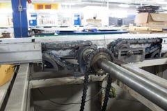 Albero motore dei trasportatori Immagine Stock Libera da Diritti