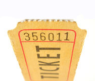 Albero mozzo di biglietto Fotografie Stock Libere da Diritti