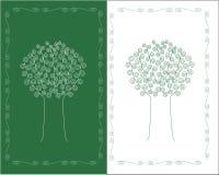 Albero stilizzato Immagine Stock