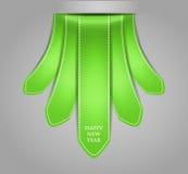 Albero stilizzato di natale di verde Fotografia Stock Libera da Diritti