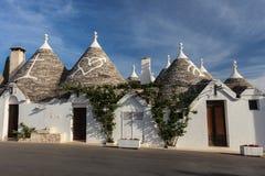 Alberobello, Ιταλία Στοκ Φωτογραφίες