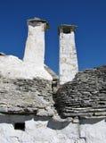 Alberobello в Puglia в Италии Стоковая Фотография RF