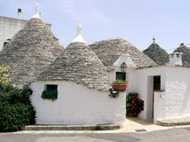 Alberobello. Cone-roofed Trulli house in Alberobello, Italy Royalty Free Stock Photos