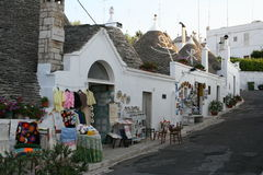 Alberobello Photographie stock