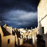 Alberobello Lizenzfreies Stockfoto