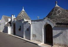 Alberobello fotografia stock