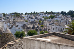 Alberobello (Apulia, Italy): trulli Royalty Free Stock Photos