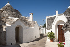 Alberobello (Apulia, Italy), trulli Stock Photos