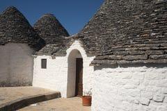 Alberobello (Apulia, Italy): Trulli Royalty Free Stock Images