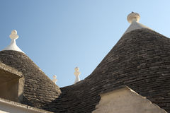 Alberobello (Apulia, Italy):Trulli Stock Images