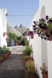 Alberobello (Apulia, Italy): Trulli Royalty Free Stock Photo