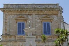 Alberobello Apulien Stockfoto