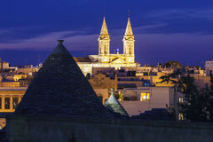 Alberobello Cathedral Royalty Free Stock Photography