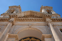 Alberobello. Church on a sunny day Stock Photo