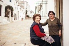 Alberobello, Italien Lizenzfreies Stockbild