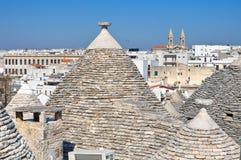 alberobello Italy Puglia s trulli Fotografia Royalty Free