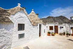 Alberobello, Puglia, Italië Royalty-vrije Stock Afbeelding