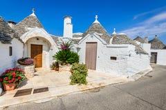Alberobello, Puglia, Italia Fotografie Stock