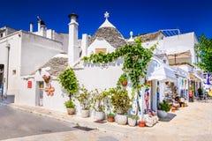 Alberobello, Puglia, Italie Photo stock