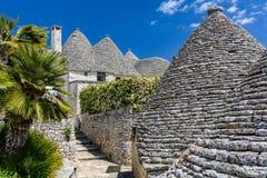 Alberobello, Puglia, Italie Photo libre de droits