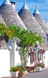 Alberobello, Puglia, Italien Stockbilder