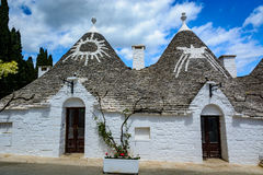 Alberobello, Puglia, Italien Lizenzfreie Stockbilder