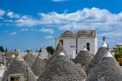 Alberobello, Puglia, Italien Lizenzfreies Stockfoto