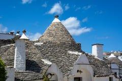 Alberobello, Puglia, Italien Stockfoto