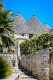 Alberobello, Puglia, Italien Lizenzfreie Stockfotos