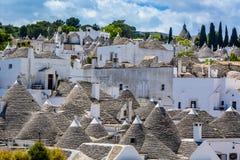 Alberobello, Puglia, Italien Stockfotografie