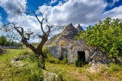 Alberobello, Puglia, Italien Stockfotos