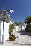 Alberobello, Puglia, Italy. Royalty Free Stock Photography
