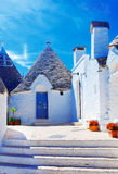 Alberobello, Puglia, Italy Royalty Free Stock Images