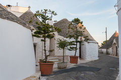 Alberobello in Puglia, Italy Royalty Free Stock Photo