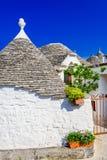 Alberobello, Puglia, Italy - Trullo house royalty free stock photography