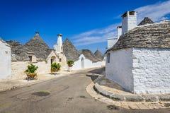 Alberobello, Puglia, Italy Royalty Free Stock Photo