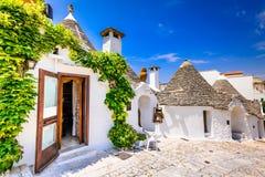 Alberobello, Puglia, Italy royalty free stock photos
