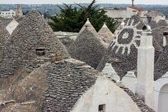 Alberobello - puglia, italy Royalty Free Stock Photography
