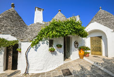 Alberobello, Puglia, Italz Image stock