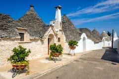 Alberobello, Puglia, Italz Fotografia Stock